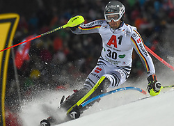 "29.01.2019, Planai, Schladming, AUT, FIS Weltcup Ski Alpin, Slalom, Herren, 1. Lauf, im Bild Dominik Stehle (GER) // Dominik Stehle of Germany in action during his 1st run of men's Slalom ""the Nightrace"" of FIS ski alpine world cup at the Planai in Schladming, Austria on 2019/01/29. EXPA Pictures © 2019, PhotoCredit: EXPA/ Erich Spiess"
