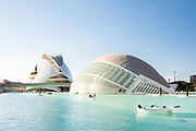 Ciudad de las Artes y las Ciencias | Santiago Calatrava | Valencia, Spain
