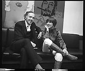 1970 - Mary Quant in Dublin, Ireland.