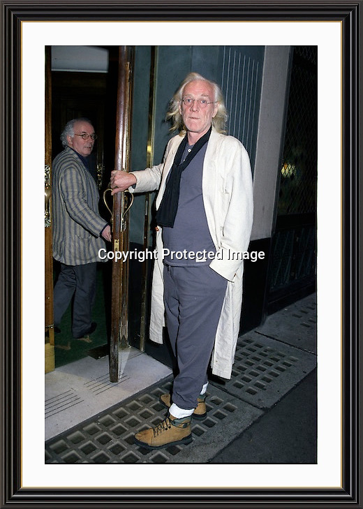 Richard Harris Pictured at the Ivy London<br /> Museum-quality Archival signed Framed Print A3 (Limited Edition of 25)