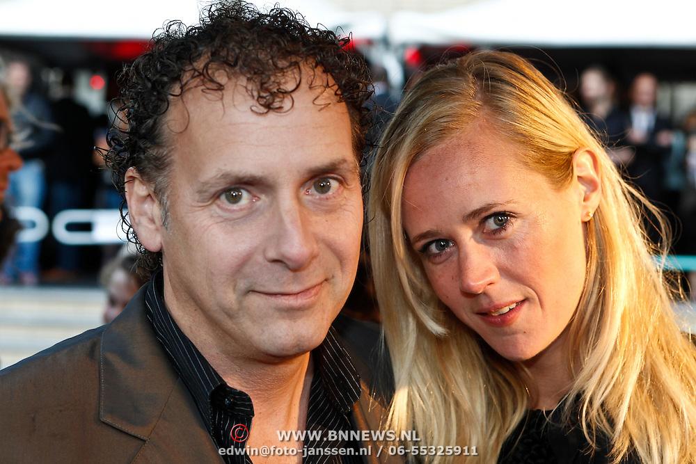 NLD/Utrecht/20100926 - NFF 2010 - Premiere Lang & Gelukkig, Alain de Levita en partner