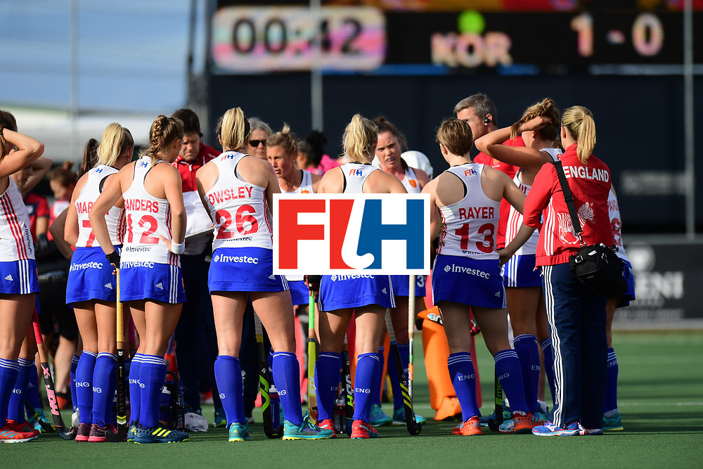 AUCKLAND - Sentinel Hockey World League final women<br /> Match id 10321<br /> Korea v England Bronze 1-0<br /> Korean win Bronz<br /> Foto:  <br /> WORLDSPORTPICS COPYRIGHT FRANK UIJLENBROEK