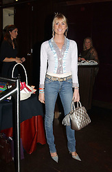 LADY EMILY COMPTON at a party to celebrate the launch of Ladies' Day at The Vodafone Derby Festival held at Frankie's Bar & Grill, 3 Yeomans Row, London SW7 on 19th April 2005.<br /><br />NON EXCLUSIVE - WORLD RIGHTS
