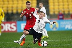 Wellington-Football, Under 20 World Cup, Austria v Panama