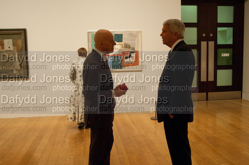 LORD FOSTER; LARRY GAGOSIAN, Picasso and Modern British Art, Tate Gallery. Millbank. 13 February 2012