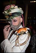 LIABILITY EDEN, Andrew Logan's Alternative Miss World 2014. Shakespeare's Globe, London. 18 October 2014.