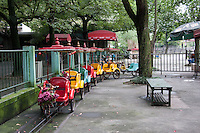 Children's fair ground ride at Shanghai zoo China