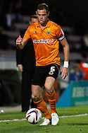 Picture by David Horn/Focus Images Ltd +44 7545 970036.30/08/2012.Richard Stearman of Wolverhampton Wanderers during the Capital One Cup match at Sixfields Stadium, Northampton.