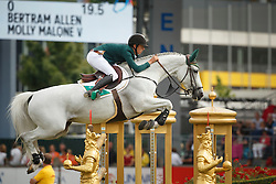 Allen Bertram, (IRL), Molly Malone V<br /> Individual Final Competition<br /> FEI European Championships - Aachen 2015<br /> © Hippo Foto - Dirk Caremans<br /> 23/08/15