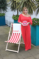 TOWIE star Billie Faiers is revealed as the Icelolly.com Celebrity Mum of the Year 2015, Hamilton Place, London UK, 10 March 2015, Photo by Richard Goldschmidt
