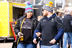 Worcester Warriors fans at Bristol Bears - Mandatory by-line: Robbie Stephenson/JMP - 23/02/2020 - RUGBY - Ashton Gate - Bristol, England - Bristol Bears v Worcester Warriors - Gallagher Premiership Rugby