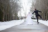 Kate & Nathan's beautiful winter wedding
