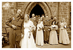 1940s Wedding what more can you want