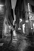 Ghost in the alley, Florence, Italy