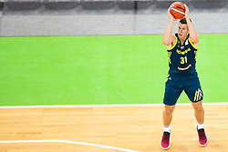 Vlatko Cancar of Slovenia during basketball match between National teams of Slovenia and Turkey in Round #8 of FIBA Basketball World Cup 2019 European Qualifiers, on September 17, 2018 in Arena Stozice, Ljubljana, Slovenia. Photo by Urban Urbanc / Sportida