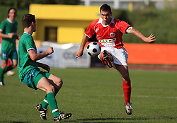 Marko Krajcer of Aluminij at final match of 2nd SNL league between NK Olimpija in NK Aluminij, on May 23, 2009, ZAK, Ljubljana, Slovenia. Aluminij won 2:1. NK Olimpija is a Champion of 2nd SNL and thus qualified to 1st Slovenian football league for season 2009/2010. (Photo by Vid Ponikvar / Sportida)