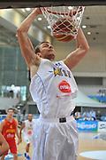 DESCRIZIONE : Trento Primo Trentino Basket Cup Bosnia Erzegovi Montenegro<br /> GIOCATORE : elmedin kikanovic<br /> CATEGORIA : schiacciata<br /> SQUADRA : Bosnia Erzegovi Montenegro<br /> EVENTO :  Trento Primo Trentino Basket Cup<br /> GARA : Bosnia Erzegovi Montenegro<br /> DATA : 25/07/2012<br /> SPORT : Pallacanestro<br /> AUTORE : Agenzia Ciamillo-Castoria/M.Gregolin<br /> Galleria : FIP Nazionali 2012<br /> Fotonotizia : Trento Primo Trentino Basket Cup Bosnia Erzegovi Montenegro<br /> Predefinita :