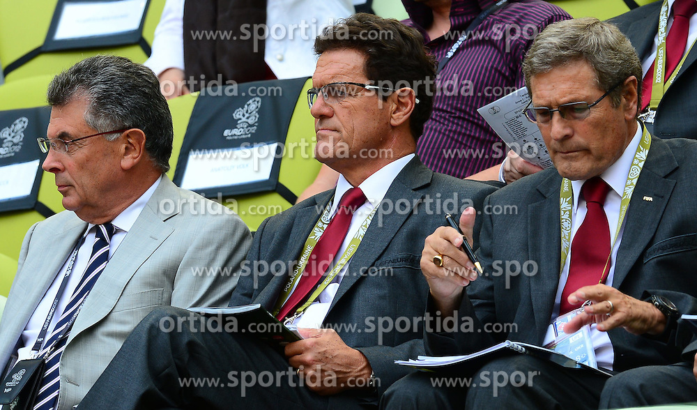 10.06.2012, Arena Gdansk, Danzig, POL, UEFA EURO 2012, Spanien vs Italien, Gruppe C, im Bild FABIO CAPELLO // during the UEFA Euro 2012 Group C Match between Spain and Italy at the Arena Gdansk, Gdansk, Poland on 2012/06/10. EXPA Pictures © 2012, PhotoCredit: EXPA/ Newspix/ ATTENTION - for AUT, SLO, CRO, SRB, SUI and SWE only *****
