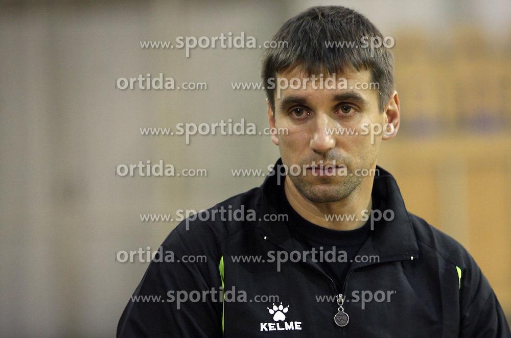 Coach of Olimpija Robert Begus at  handball game between women team RK Olimpija vs ZRK Brezice at 1st round of National Championship, on September 13, 2008, in Arena Tivoli, Ljubljana, Slovenija. Olimpija won 41:17. (Photo by Vid Ponikvar / Sportal Images)