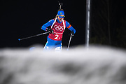 PYEONGCHANG-GUN, SOUTH KOREA - FEBRUARY 20: Lisa Vittozzi of Italy during the Biathlon 2x6km Women + 2x7.5km Men Mixed Relay at Alpensia Biathlon Centre on February 20, 2018 in Pyeongchang-gun, South Korea. Foto: Nils Petter Nilsson/Ombrello                    ***BETALBILD***