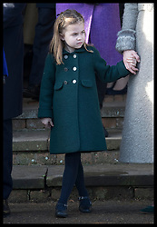 December 25, 2019, Sandringham, London, United Kingdom: Image licensed to i-Images Picture Agency. 25/12/2019. Sandringham, United Kingdom. Princess Charlotte leaving the Christmas Day church service at Sandringham in Norfolk, United Kingdom. (Credit Image: © Stephen Lock/i-Images via ZUMA Press)