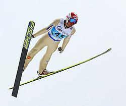 13.02.2013, Vogtland Arena, Kingenthal, GER, FIS Ski Sprung Weltcup, im Bild Robert Kranjec, Slowenien // during the FIS Skijumping Worldcup at the Vogtland Arena, Kingenthal, Germany on 2013/02/13. EXPA Pictures © 2013, PhotoCredit: EXPA/ Eibner/ Ingo Jensen..***** ATTENTION - OUT OF GER *****