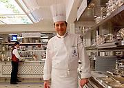 Michel Roth, directeur des cuisines &agrave; l'Hotel Ritz Paris, Paris-Ile-de-France, France.<br /> Michel Roth, head chef, at the Hotel Ritz Paris, Paris-Ile-de-France region, France.