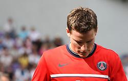 Kevin Gameiro of PSG. Toulouse v Paris Saint Germain (1-3), Ligue 1, Stade Municipal, Toulouse, France, 28th August 2011.