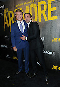 """Cary Elwes and Christian Cooke, left to right, attend Crackle's """"The Art of More"""" season two premiere, Tuesday, Nov. 15, 2016, at the Museum of Arts and Design in New York. Sony's streaming network, Crackle, will launch season two of its first original scripted drama, """"The Art of More,"""" on November 16th.  (Photo by Diane Bondareff/Invision for Crackle/AP Images)"""
