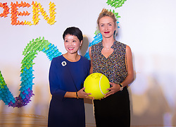 September 22, 2018 - Elina Svitolina of the Ukraine on the red carpet at the 2018 Dongfeng Motor Wuhan Open WTA Premier 5 tennis tournament players party (Credit Image: © AFP7 via ZUMA Wire)