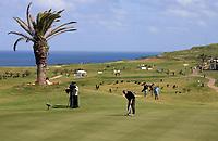 20090322: PORTO SANTO, MADEIRA ISLAND, PORTUGAL Ð PGA European Tour: Madeira Islands Golf Open BPI Ð Day 4. In picture: Michael HOEY (NIR) . <br />PHOTO: Octavio Passos/CITYFILES