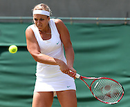 Wimbledon Championships 2012 AELTC,London,.ITF Grand Slam Tennis Tournament,.Sabine Lisicki (GER), Aktion,,Einzelbild,Halbkoerper,Querformat,.