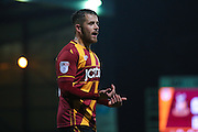 Bradford City midfielder, on loan from Sheffield United, Marc McNulty (18)  during the EFL Sky Bet League 1 match between Bradford City and Northampton Town at the Coral Windows Stadium, Bradford, England on 22 November 2016. Photo by Simon Davies.