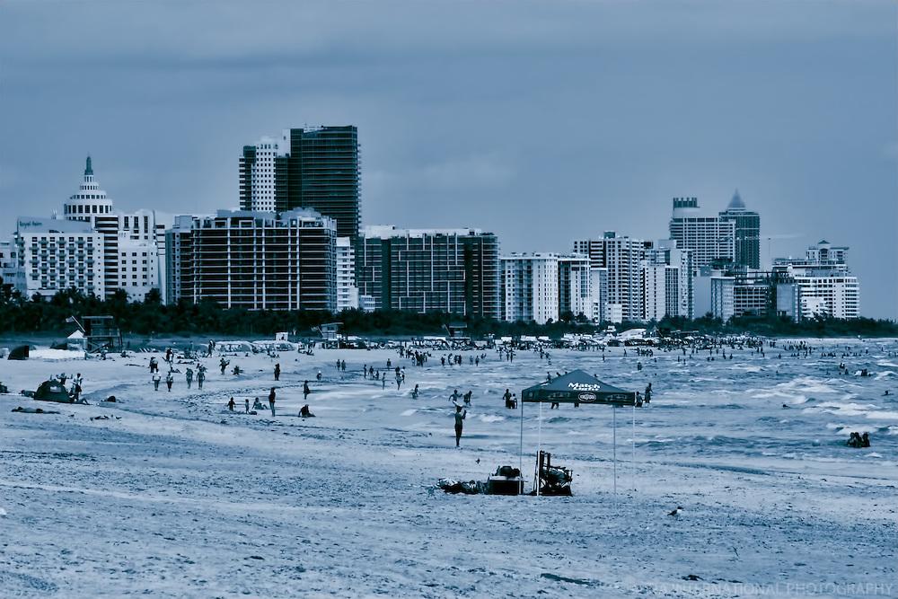 South Beach (monochrome - 1)