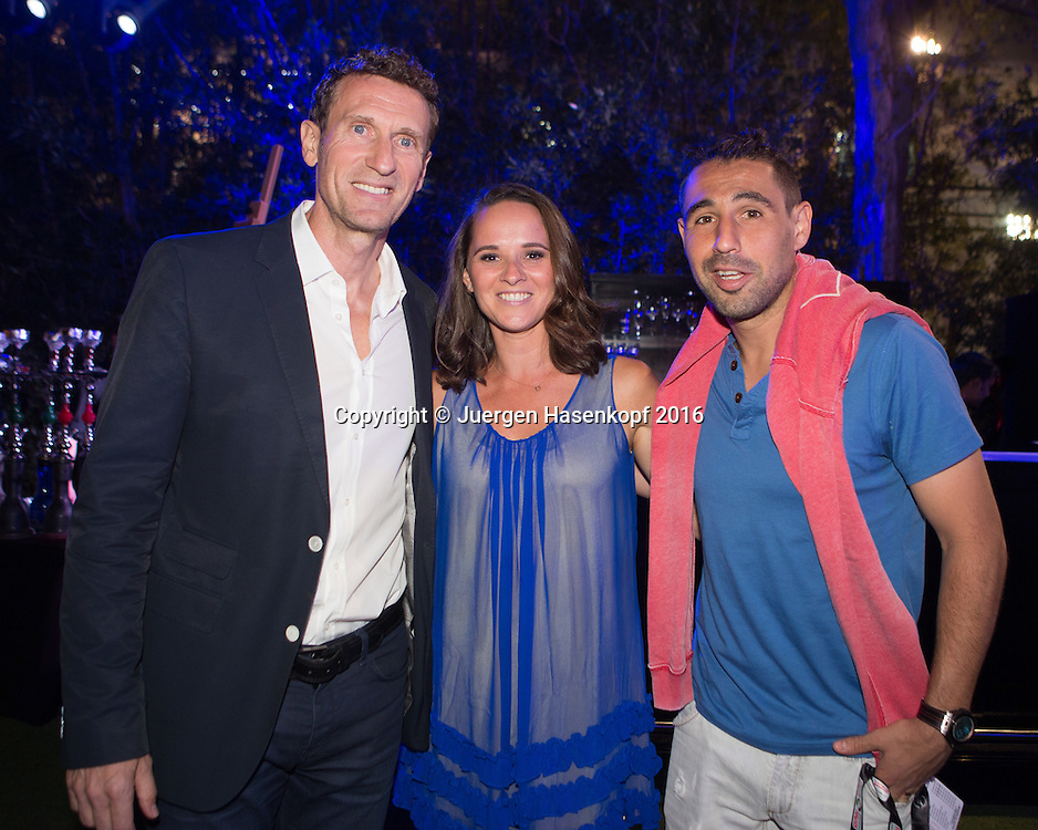 Dubai ATP Players Party<br /> <br /> Tennis - Dubai Duty Free Tennis Championships - ATP -   - Dubai -  - United Arab Emirates  - 23 February 2016. <br /> &copy; Juergen Hasenkopf