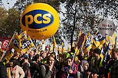PCS at the TUC October 20 Rally