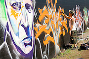 Graffiti Event at TerraCycle, Inc., Trenton, NJ
