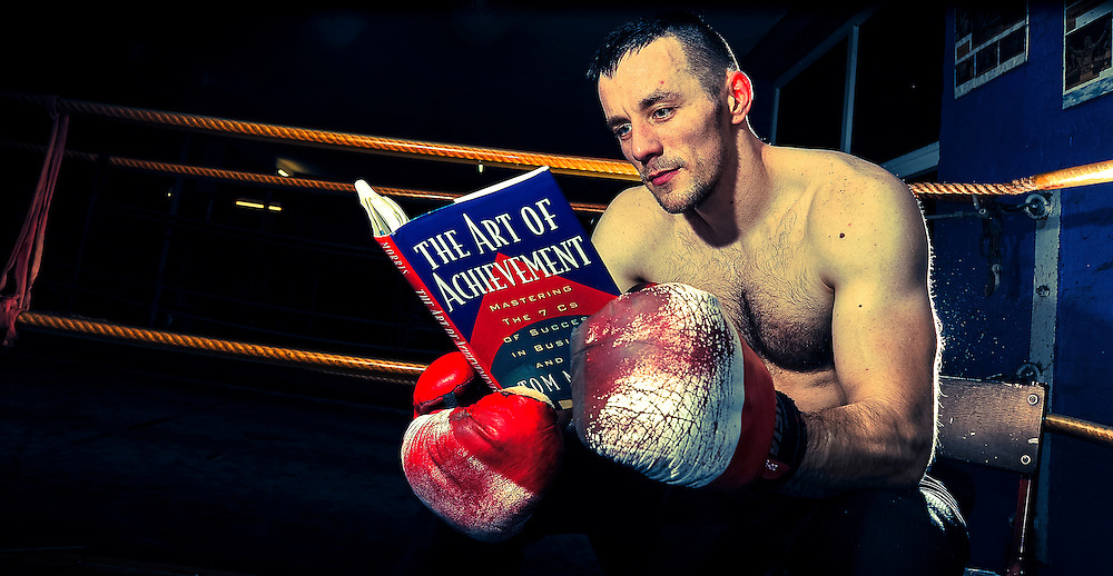 Polish citizen Michal Jezierski divides his time between his love of boxing and reading self-improvement literature whilst working as a chef in Copenhagen, Denmark.<br />