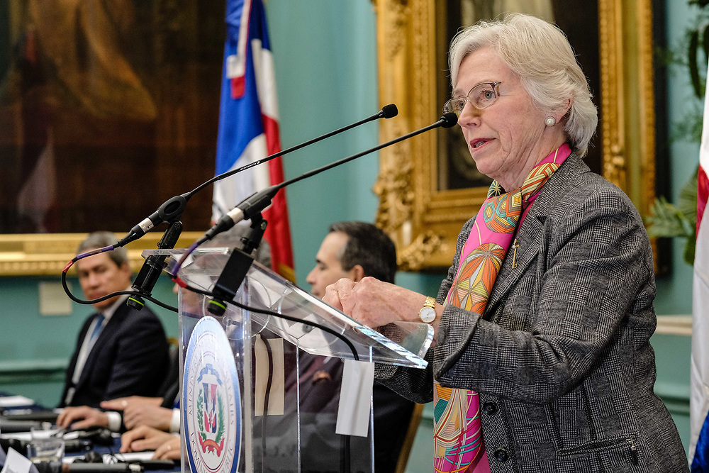 Gloria Dorothy Hooper, Baroness Hooper, CMG, DSG, FRSA, FRGS is a British lawyer and a Conservative life peer in the House of Lords. The daughter of Frederick and Frances Hooper, she was educated at La Sainte Union Convent High School, Southampton, and at the Royal Ballet School