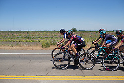 Leah Thorvilson (USA) of CANYON//SRAM Racing Team leads the chase during Stage 1 of the Amgen Tour of California - a 124 km road race, starting and finishing in Elk Grove on May 17, 2018, in California, United States. (Photo by Balint Hamvas/Velofocus.com)