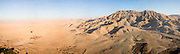 Aerial pano, Valley of the Queens, Egypt