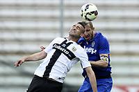 Abdelkader Ghezzal e Giorgio Chiellini<br /> Parma 11-04-2015 Stadio Tardini, Football Calcio Serie A Parma - Juventus Foto Image Sport / Insidefoto