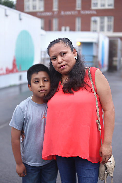 "Rafaela Vivaldo has been active with the group ""P.E. for All"" in addressing overcrowding and the lack of a Physical Education program at PS 19Q, the Marino P Jeantet School, where her nine-year-old son, Fernando, is in second grade."