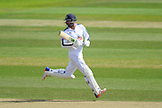 James Vince of Hampshire batting during the Specsavers County Champ Div 1 match between Hampshire County Cricket Club and Yorkshire County Cricket Club at the Ageas Bowl, Southampton, United Kingdom on 1 September 2016. Photo by Graham Hunt.