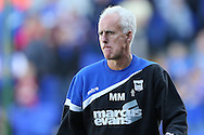 Picture by Richard Calver/Focus Images Ltd +447792 981244<br /> 28/09/2013<br /> Manager of Ipswich Town, Mick McCarthy during the Sky Bet Championship match against Brighton and Hove Albion at Portman Road, Ipswich.