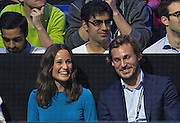 Pippa Middleton during the Roger Federer vs Andy Murray match at the Barclays ATP World Tour Finals, O2 Arena, London, United Kingdom on 13th November 2014 © Phil Duncan | Pro Sports Images