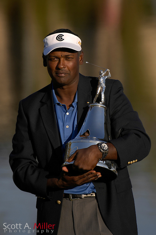 Vijay Singh after winning the Arnold Palmer Invitational at Bay Hill Club and Lodge  on March 18, 2007 in Orlando, Florida...© 2007 Scott A. Miller