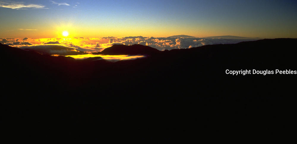 Sunrise, Haleakala, Maui, Hawaii, USA<br />