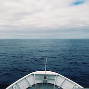 Research Vessel Ocean Starr on a survey trip through the Great Pacific Garbage Patch. Taken with an iPhone