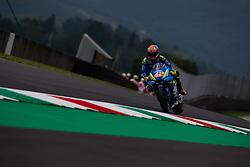 June 1, 2018 - Mugello, FI, Italy - Alex Rins of Team Suzuki Ecstar during the Free Practice 1 of the Oakley Grand Prix of Italy, at International  Circuit of Mugello, on June 01, 2018 in Mugello, Italy  (Credit Image: © Danilo Di Giovanni/NurPhoto via ZUMA Press)